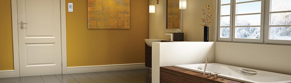gamme de contr les pour syst me de plancher chauffant. Black Bedroom Furniture Sets. Home Design Ideas